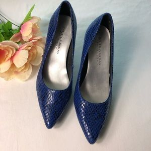 CHRISTIAN SIRIANO  shoes blue size 8